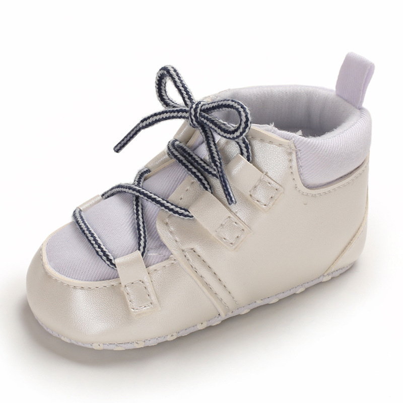 New Baby Girls Boys Shoes Sneaker Newborn Infant Toddler Girl Boy Shoes Moccasins Soft Sole Anti Slip Cross Tied First Walker in First Walkers from Mother Kids