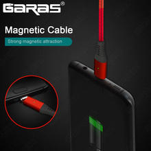 GARAS QC2.0 Magnetic Micro USB Cable Fast Charging/Data Cable Micro USB For Xiaomi/Samsung