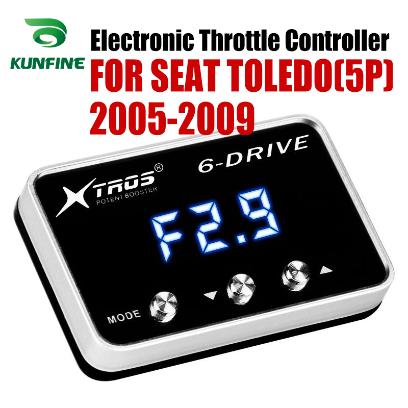 Car Electronic Throttle Controller Racing Accelerator Potent Booster For SEAT TOLEDO(5P) 2005-2009 Tuning Parts Accessory Car Electronic Throttle Controller Racing Accelerator Potent Booster For SEAT TOLEDO(5P) 2005-2009 Tuning Parts Accessory