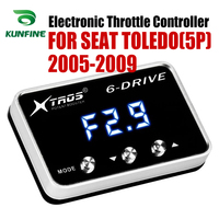Car Electronic Throttle Controller Racing Accelerator Potent Booster For SEAT TOLEDO(5P) 2005 2009 Tuning Parts Accessory|Car Electronic Throttle Controller| |  -
