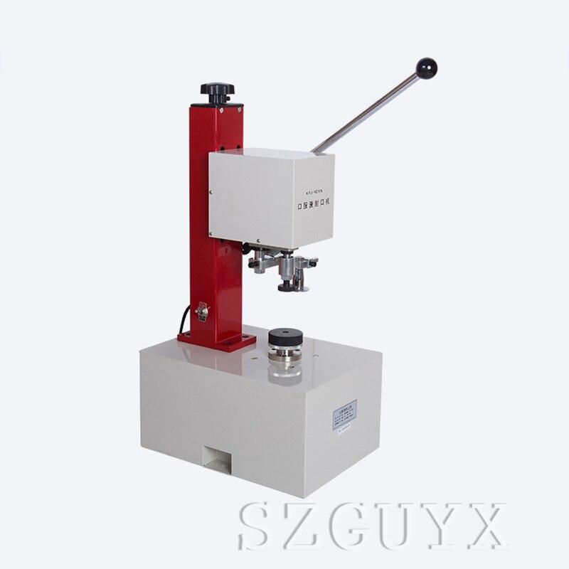 TD SGL полуавтоматическая блокировочная укупорочная машина 0,4 0.6Mpa домашняя крышка замка бутылки укупорочная машина 110/220V 1 шт - 2