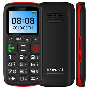Image 2 - Gsm 2g vkworld z3 russo teclado celular 1.77 polegada fm sênior crianças mini telefone duplo sim móvel mais alto alto falante idosos telefone sos