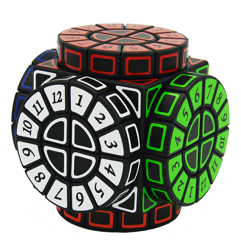 Cube Style 2x2 Time Machine Cube Stickers Speed Magic Cube Puzzle Limited Version Shape of Wheels of Wisdom Cubo Magico Learning brand new dayan wheel of wisdom rotational twisty magic cube speed puzzle cubes toys for kid children