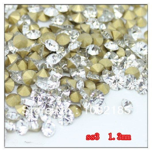 SS3 14400Pieces 100Gross High Quality Crystal Color Point Back Chaton Rhinestone степлер мебельный gross 41001