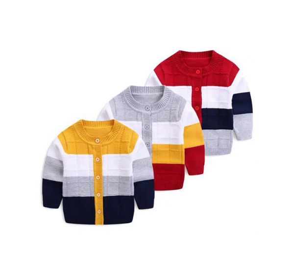 Baby sweater cardigan new boys' sweater 0-24months