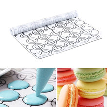 60*26 Silicone Dough Mat Bakeware Macaron Pastry Oven Pasta Tool Baking Liner Cake Pad