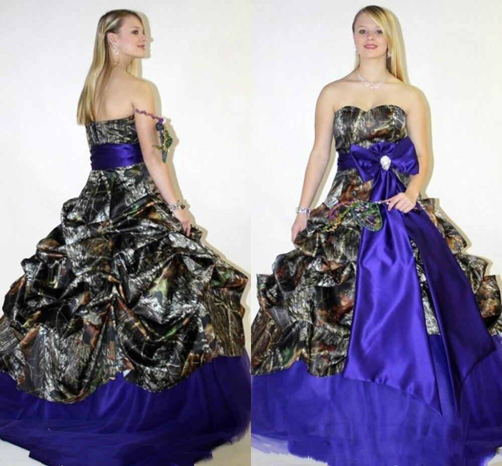 Online get cheap blue camouflage dress aliexpress alibaba group blue orange pink 2017 plus size camo wedding dresses sweetheart sleeveless sweep train big bow knot ombrellifo Gallery