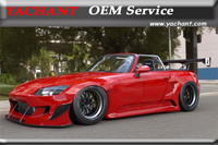 FRP Fiber Glass Bodykits Fit For 2000 2009 S2000 AP1 AP2 PD Rocket Bunny Style Wide Body Kit Shipped Dubai Airport