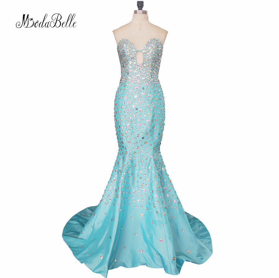 Real Photos Luxurious Fitted Sexy Mermaid Prom Dresses Long 2017 ...