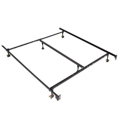 Cama de Metal ajustable reina tamaño doble completo y centro de ...