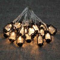 Luces Led Decoracion Olio Acqua Lampada Fata Luce a Led per Esterni Luci Della Stringa per Il Natale Ramadan Giardino Decorazione Della Festa Nuziale