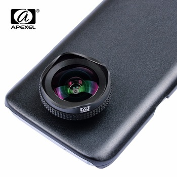 APEXEL PRO 16mm 4K wide angle circular polarizing CPL Filter wide lens mobile phone Camera Lens kit forSamsung galaxy s7/s7 edge