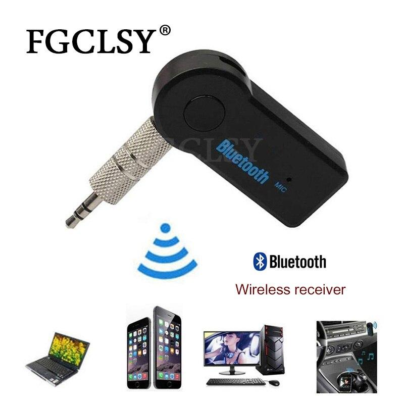 Der GüNstigste Preis Fgclsy Bluetooth Empfänger Aux Audio 3,5mm Muisc Audio Wireless Empfänger Für Auto Lautsprecher Kopfhörer Hände Frei Bluetooth Adapte Unterhaltungselektronik