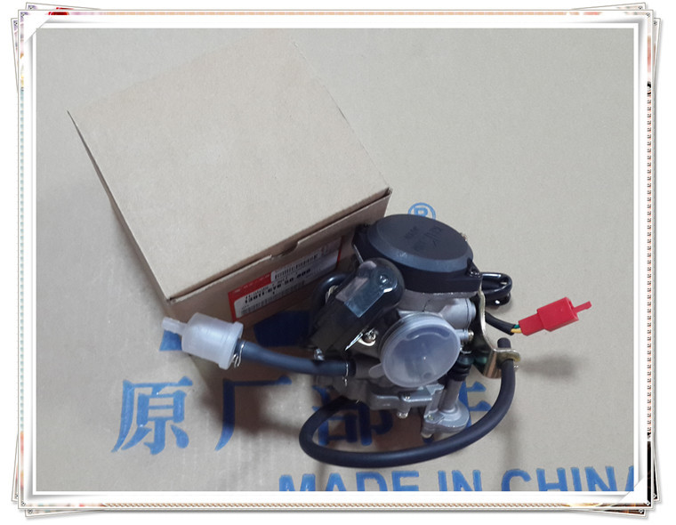 A new high quality motorcycle accessories <font><b>GY6</b></font> 48cc <font><b>50cc</b></font> 60cc 80cc <font><b>carburetor</b></font> Universal <font><b>carburetor</b></font> accelerating pump image