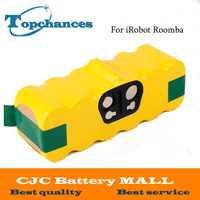 Alta calidad 4000mAh Ni-MH de batería para iRobot Roomba 500, 560, 530, 510, 562, 550, 570, 581, 610, 650, 790, 760, 770