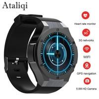 Ataliqi H2 Newest Bluetooth Smart Watch MTK6580 ROM RAM 16GB 1GB 5MP Camera Heart Rate Smartwatch