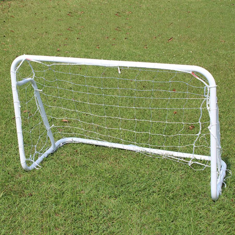 240x150x90CM Folding Soccer Net Goal Gate Adult Movable Steel Tube Gate Frame Portable Football Shooting Training Equipment