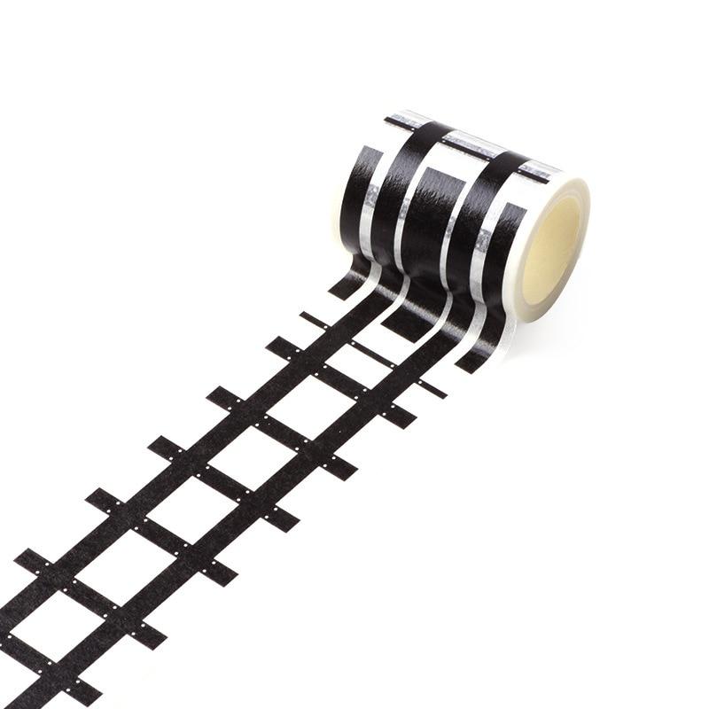 Lot # 3 tape= Creative Traffic Road Tape Adhesive Masking Tapes Kids Train Car