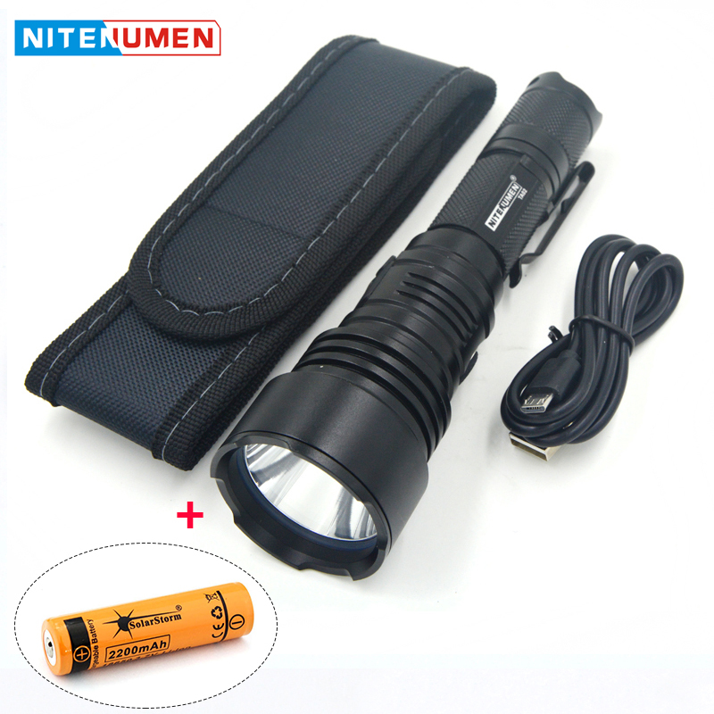 LED Flashlight USB Rechargeable LED Torch Pocket Tactical Switch Strong Light Waterpoof Outdoor Camping Lamp with 18650 Battery tactical led wrist watch flashlight torch light usb rechargeable outdoor camping