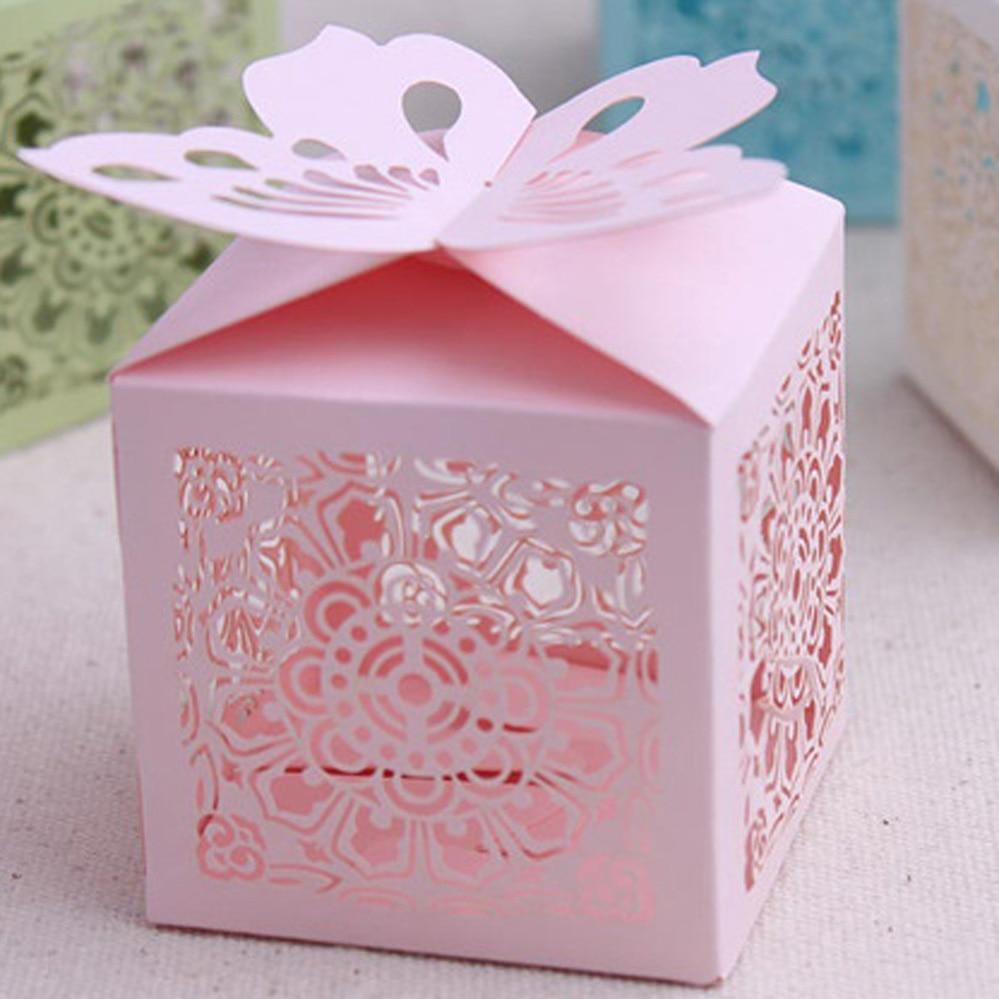 Aliexpress.com : Buy wedding supplies candy box laser cut cupcake ...