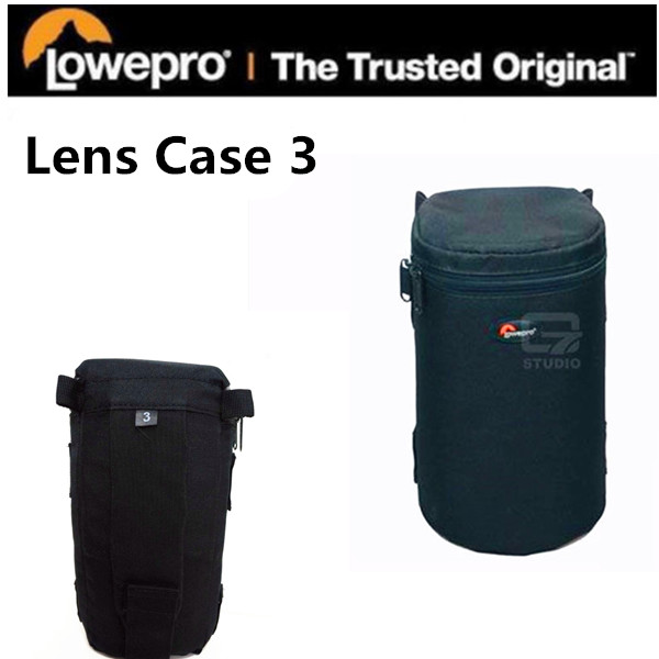 Free Shipping NEW Lowepro Camera bag Lowepro Lens Case 3 Lens Cases LC3 Lens barrel for Nikon Canon 70-300mm цены онлайн
