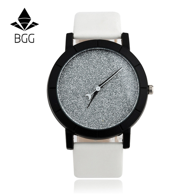 Cute Moon Stars Design Analog Wrist Watch Women Unique Romantic Starry Sky dial Casual Fashion quartz watches Woman Girl Gift 2