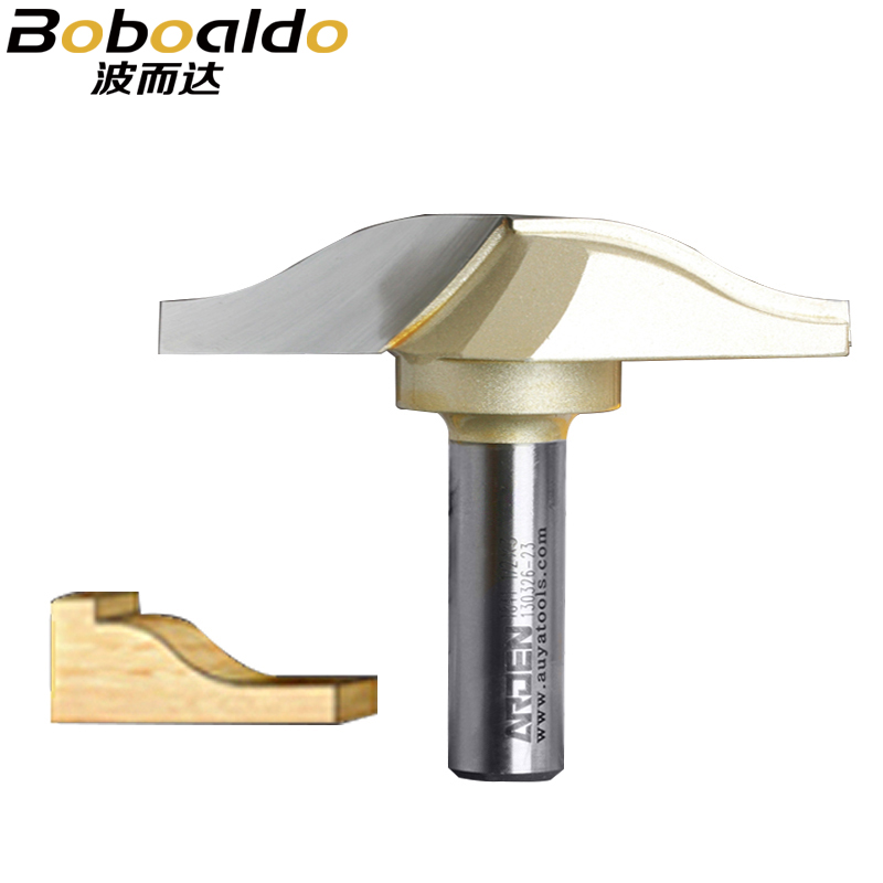 1pcs 1/2 Shank Stile & Panel Arden Router Bit Woodworking Tools two Flute Router Bits for wood cutting the wood router tool woodworking tool classical hook arden router bit 1 2 1 1 2 6 18mm shank arden a1811038
