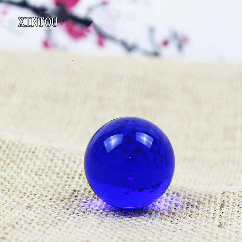 XINTOU Crystal Glass Sphere Ball 3 cm Miniature Child Globe Toy Balls Feng shui Home Garden Water Fountain Decorative Balls Gift