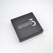 Coinvexed 3 третьего поколения(DVD+ Gimmick) Волшебная монета для фокусов изгиб Magica сценический ментализм иллюзионные аксессуары реквизит Комедия