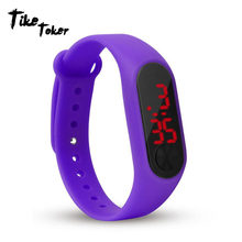 Fashion Men Led Digital Watch Women Casual Yoga Silicone Sports Wristwatch Children Kids Watches Outdoor Bracelet Watches Clock(China)