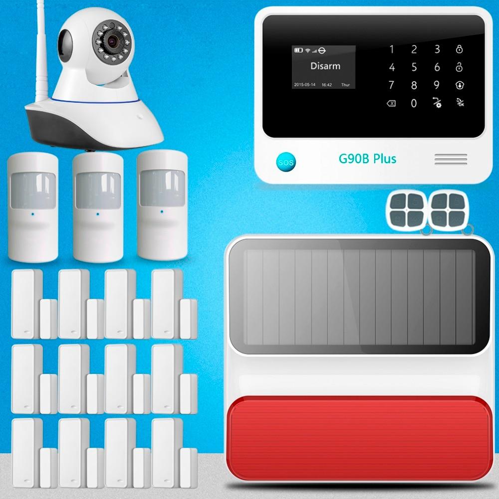 Etiger G90B Plus IP camera WIFI GSM home alarm system burglar alarm for home office security