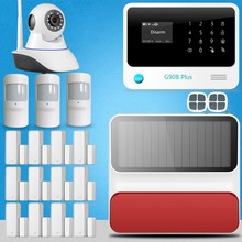 Etiger G90B Plus IP camera WIFI+GSM home alarm system burglar alarm for home/office security