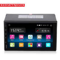 """2din Android 5.1 6.0 Car Radio Stereo 7"""" Capacitive Touch Screen High Definition 1024x600 GPS Navigation Bluetooth USB SD Player"""