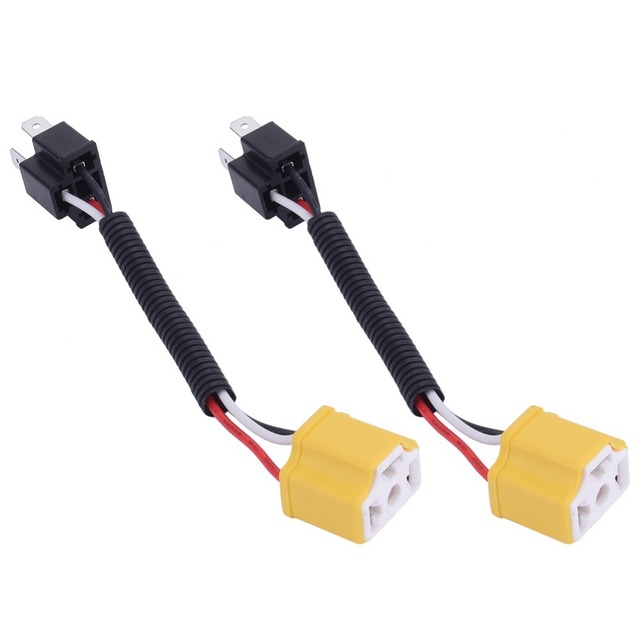 Wire Harness Price | 2pcs High Quality Lower Price H4 Cable H4 Wire Harness Socket