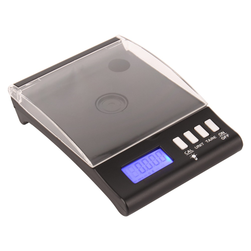 30g/0.001g Digital Jewelry Scales Reloading Powder Grain Milligram Lab Diamond Gem Weight Scales Electronic Balance Scale