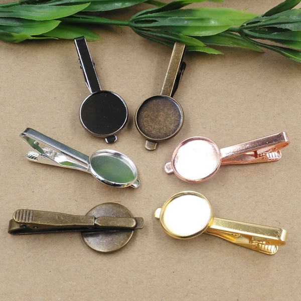100pcs Cabochon 16mm 18mm 20mm Pad Tray Dull Silver Gold Black Antique Bronze Color Nickel lead