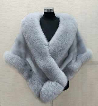 8 colours Grey/blue/white/black faux fur wrap bridal wrap faux fur shrug faux fur stole shawl cape - DISCOUNT ITEM  25% OFF Weddings & Events