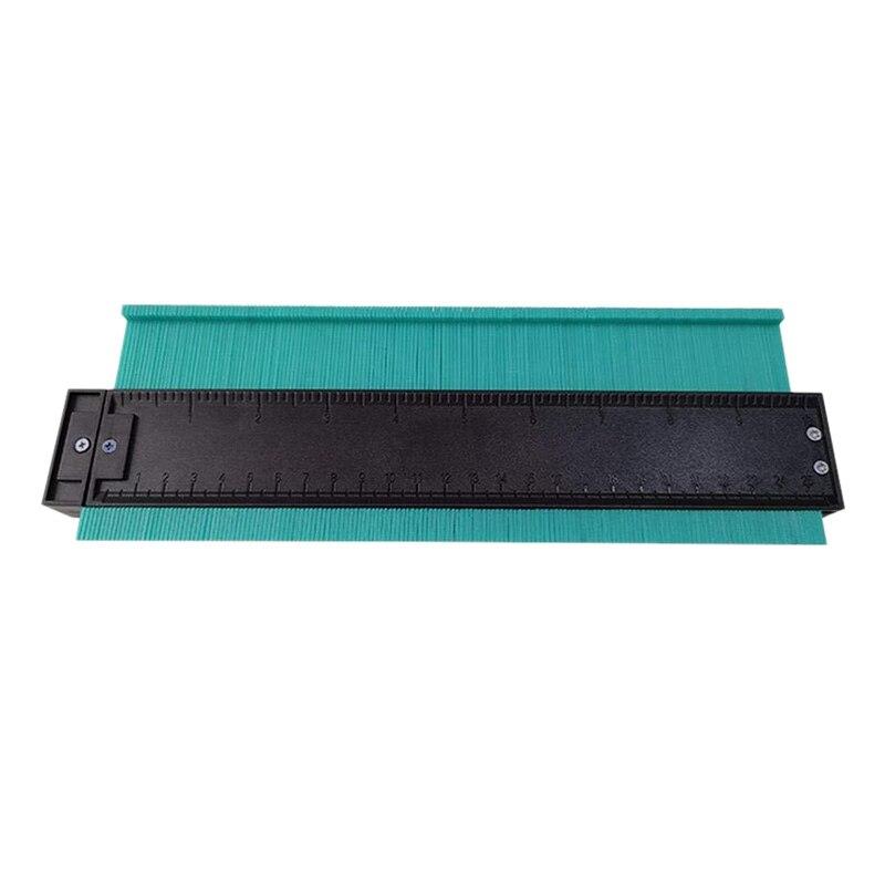 Contour Measurer 10 Inch Shape Duplicator Profile Gauge Tiling Laminate Suitable For Woodworking, Auto Body, Auto Metal Sheet,
