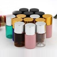 10 50 100pcs PET Mini DIY 5ml Sharp Mouth Plastic Clean Bottle Split Essence Refillable Container