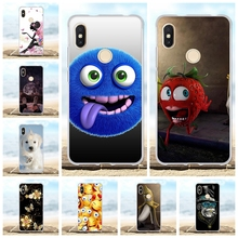 For Xiaomi Redmi S2 Y2 Cover Slim Soft Silicone TPU Case Flowers Patterned Shell Funda