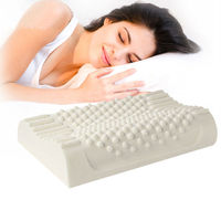 Natural Latex Bed Cervical Orthopedic Pillow Sleeping Bedding Latex Massage Particles Pillows Neck Head Care Memory Foam Pillows