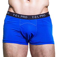 Men Sport Shorts for Gym Mens Underwear Boxers Quick Dry Sports CompressionShorts Men's Underwear Briefs xxxl Mesh Running Short(China)