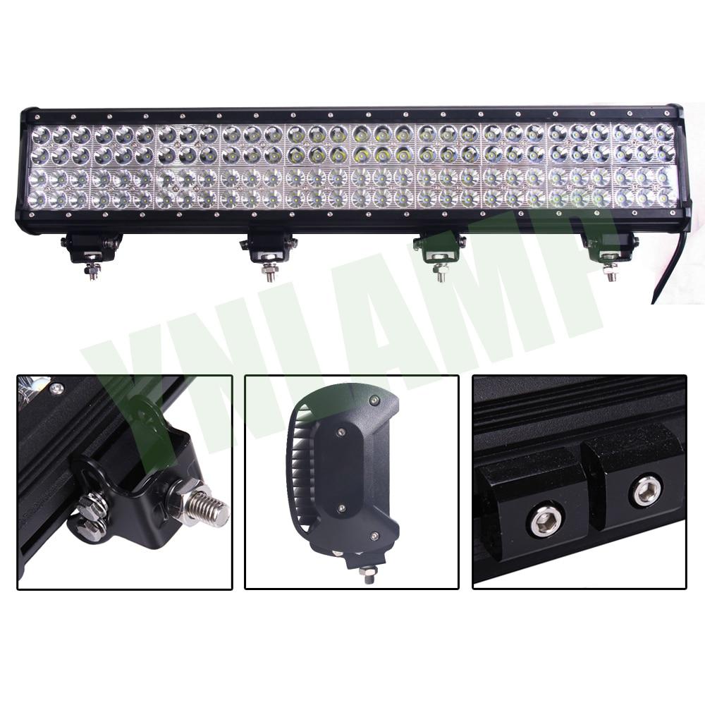YNROAD 360w 28inch 4rows LED svjetlo Bar radno svjetlo Vožnja - Svjetla automobila - Foto 4