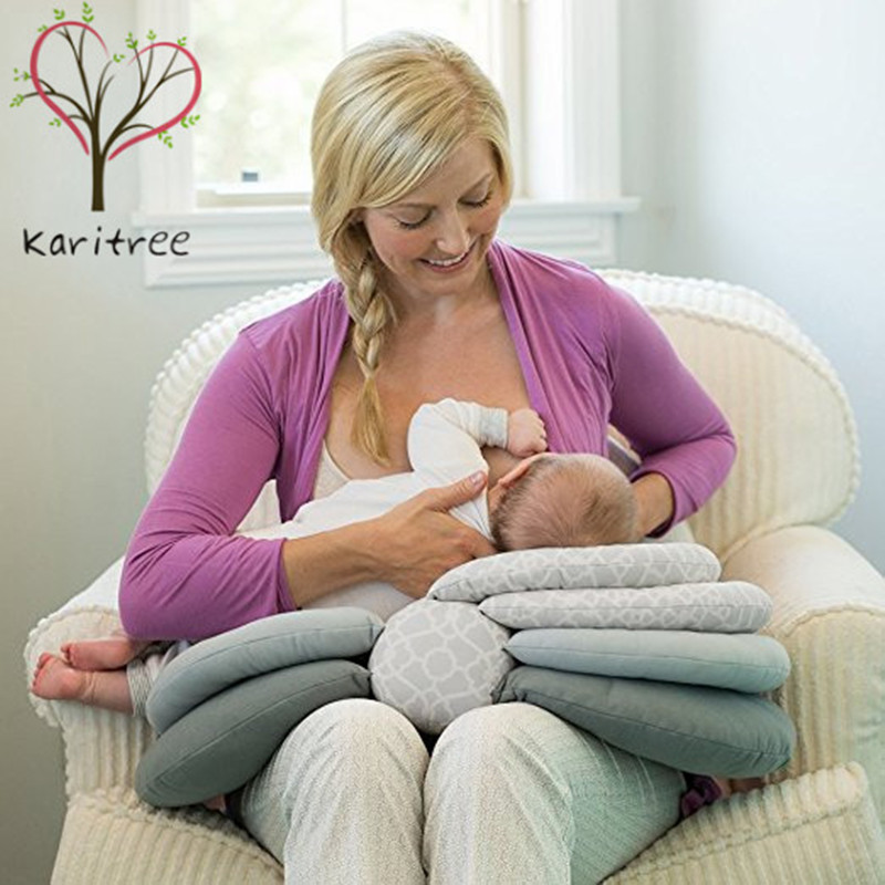 ФОТО Multifunctional Detachable Nursing Pillow Breastfeeding Infant Baby Boppy Pillow Crawling Sitting Learning Pillow