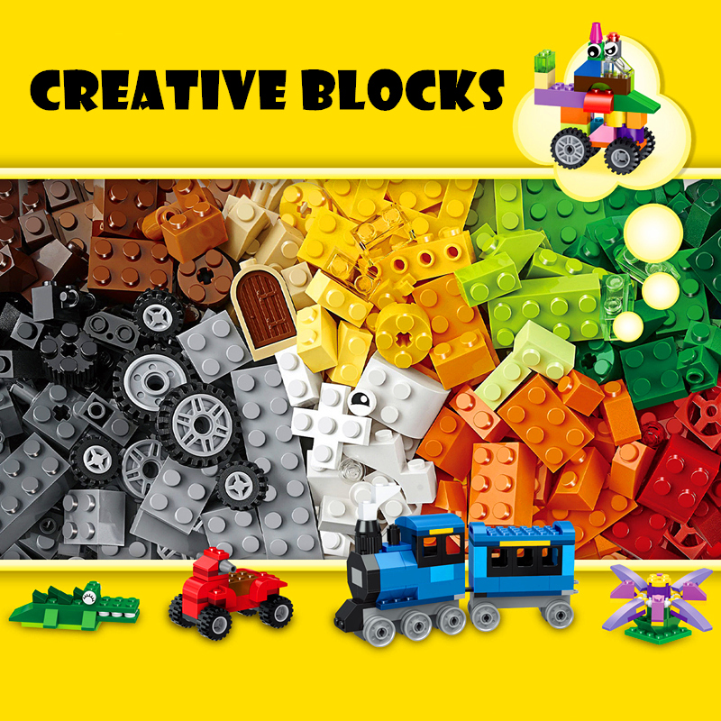 550pcs Diy Compatible With Legoing Building Blocks Set Modeling Creative With Educational Bricks Toys For Children birthday Gift 102pcs diy big size building blocks bricks city creative with educational compatible with legoing duploe toys for children gifts
