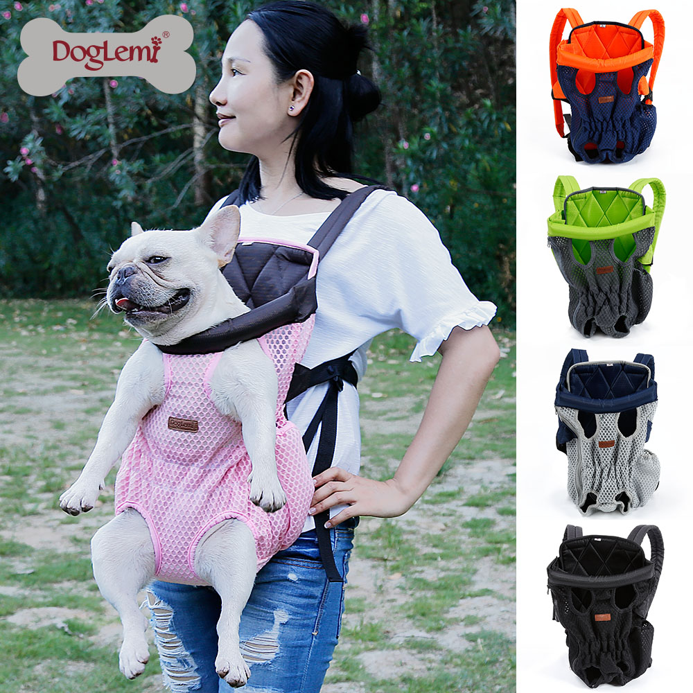 2019 New Arrival Pet Carrier Soft Leather Kangaroo Mother Pet Dog Cat Bag Backpack Knapsack Puppy Carry Bag in Dog Carriers from Home Garden