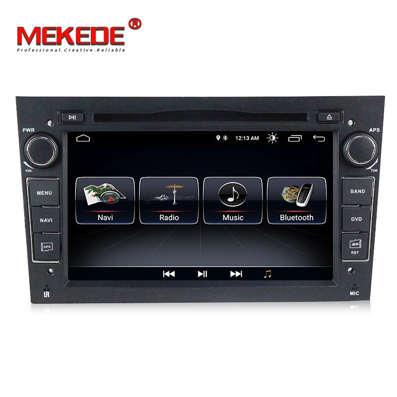 MEKEDE Android 8.1 Car DVD Player GPS de Navegação para opel astra H c vectra Meriva zafira bcorsa c d G vivaro Antara com SWC