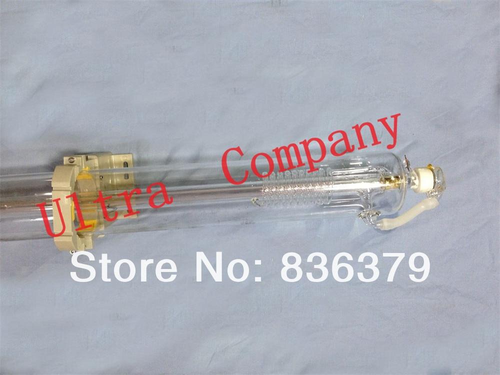 70W Co2 laser tube 1250mm with wooden case 4 months warranty laser machine parts