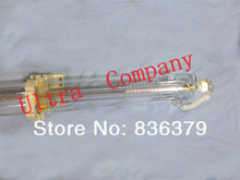 70W Co2 laser tube 1250mm with wooden case 4 months warranty laser machine parts