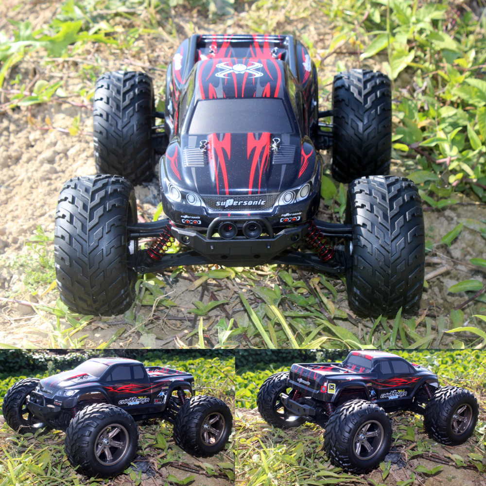 New Style 1:12 2WD 42KM/H RC Car High Speed Remote Control Off Road Dirt Bike Classic Toys Truck Traxxas Big Wheel Boy Gift